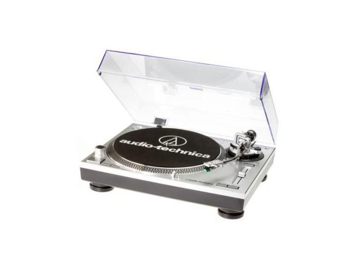 AUDIO-TECHNICA AT-LP120 USB HC srebrny