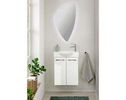 Zestaw 2- drzwiowa szafka + umywalka + lustro Organic  Lino FACKELMANN