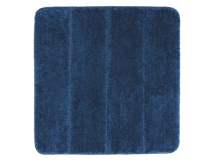 Ciemnoniebieski dywanik łazienkowy Wenko Steps, 55x65 cm Kategoria Dywaniki łazienkowe