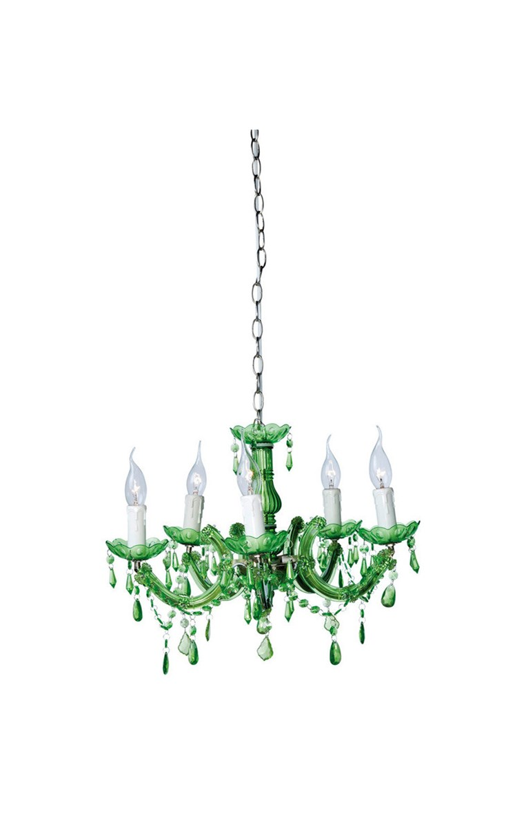 Kare Design Lampa Sufitowa Barock Green 5 Lights Lampy Wisz Ce Zdj Cia Pomys Y