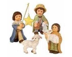 Bożonarodzeniowa szopka - zestaw figurek