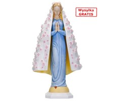 Maria der Rosen (Maryja w Różach) - niebieski