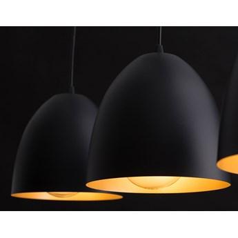 LENOX 2 BLACK-GOLD 410/2 nowoczesna lampa wisząca Czarno / Złota