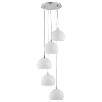 Lampa wisząca zwis WATERFALL biała śr. 28cm