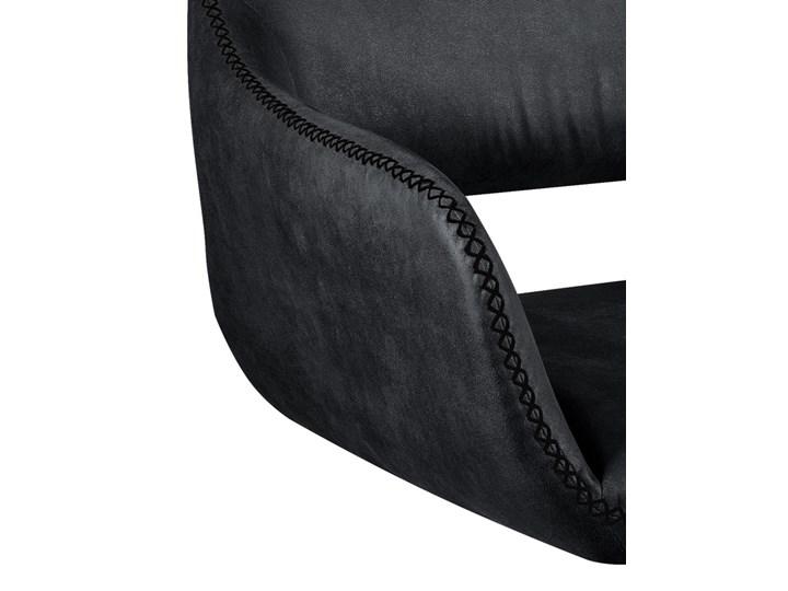 Obrotowe krzesło z podłokietnikami Talia Szerokość 58 cm Wysokość 82 cm Kategoria Krzesła kuchenne Głębokość 42 cm Kolor Szary