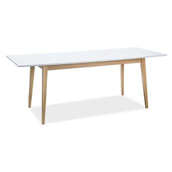 Skandynawski stół z rozkładanym blatem Cesar 120-165x68 cm