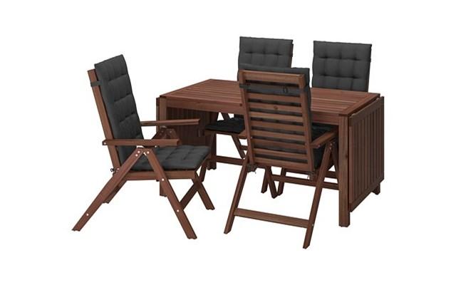 äpplarö Stół4 Rozkł Krzeseł