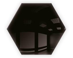 Płytki Kafelki Lustrzane 183x160  Heksagon 4mm Szlif Poler Czarne