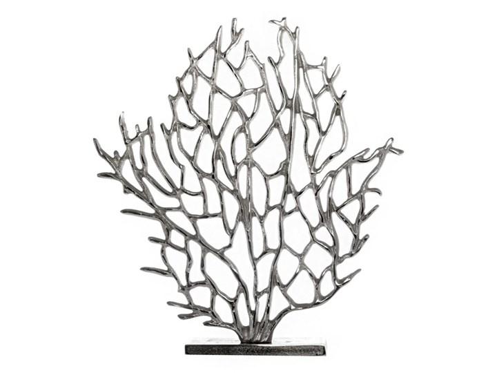 Dekoracja Figurka Koral Glamour Maritim Rośliny Metal Kategoria Figury i rzeźby