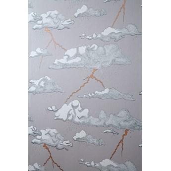 """Tapeta Abigail Edwards """"Burzowe Chmury"""" szara w chmury"""
