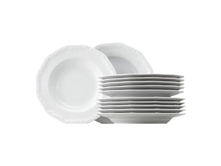 ROSENTHAL Maria serwis obiadowy 12el - biały, zestaw, porcelana premium