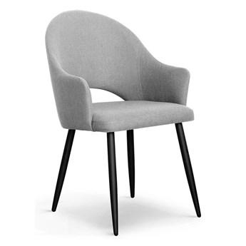 Krzesło GOA  jasnoszary AU15   / czarny