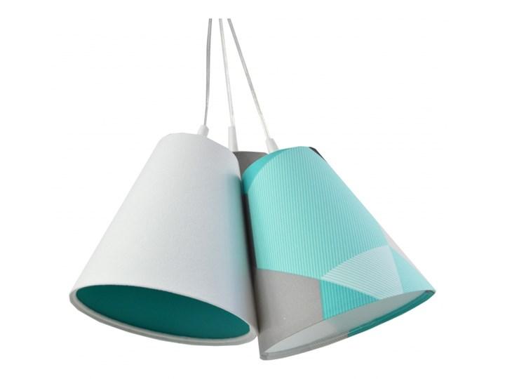 Lampa wisząca Dzwoneczki Geometrix Cyjan