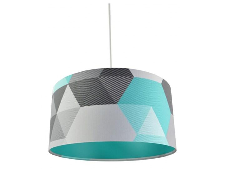Lampa wisząca Geometrix Cyjan