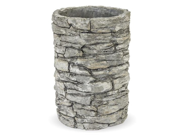 KAMIENY MUR osłonka okrągła tuba, wys. 24 cm