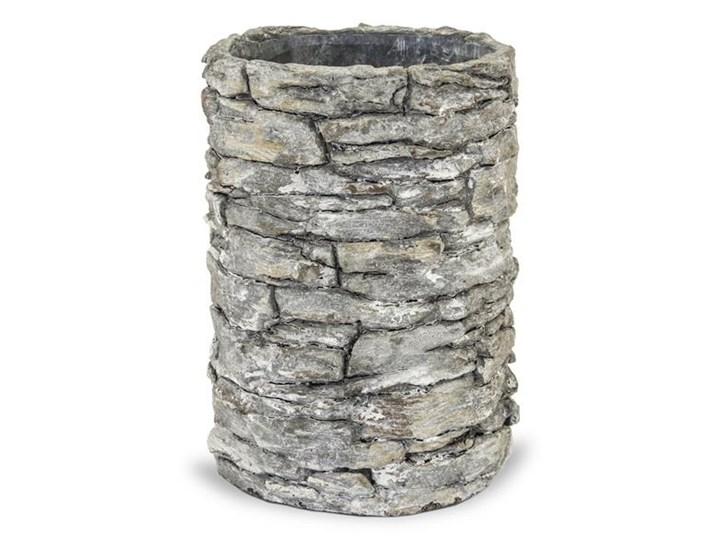 KAMIENNY MUR osłonka okrągła tuba, wys. 20 cm