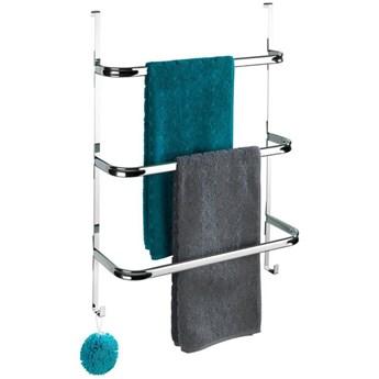 Wieszak na ręczniki zawieszany na drzwi chromowany IRPINIA, Wenko