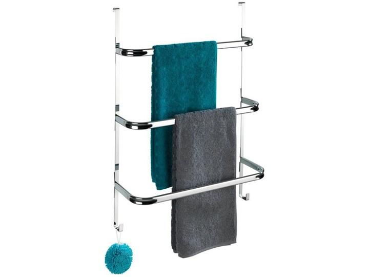 Wieszak na ręczniki zawieszany na drzwi chromowany IRPINIA, Wenko Wieszaki na ręczniki