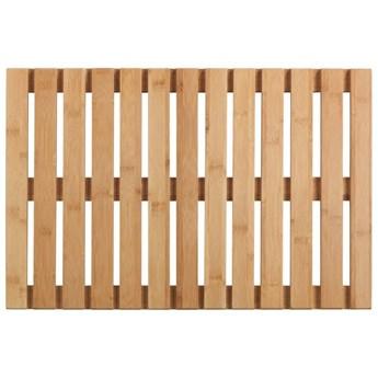 Podest łazienkowy z drewna bambusowego, 40 x 60 cm, WENKO