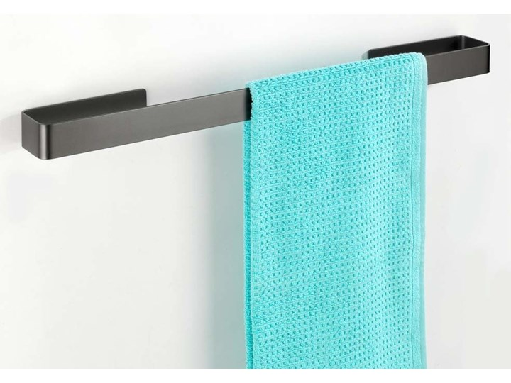 Wieszak Na Ręcznik Uchwyt Na Ręcznik Do łazienki Montella Kolor Antracytowy