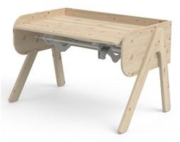 Biurko dziecięce z drewna sosnowego z regulacją wysokości Flexa Woody