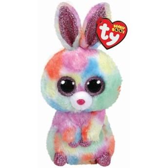 Maskotka TY INC Beanie Boos Bloomy - tęczowy królik 24cm 37277