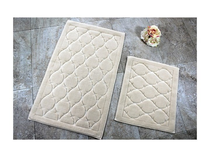 Zestaw 2 dywaników łazienkowych Dante 50x60 cm 60x100 cm Prostokątny Kategoria Dywaniki łazienkowe