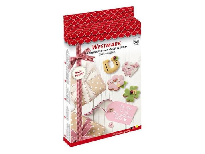 Zestaw 4 foremek do ciastek Westmark Liebe Kategoria Dekoracja wypieków