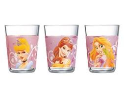 Komplet 3 szklanek dla dzieci Princess Beauties 160ml