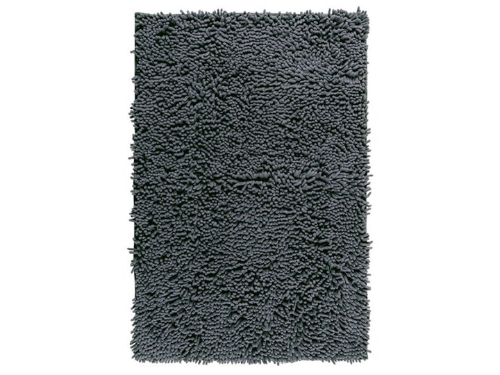 Grafitowy dywanik łazienkowy Wenko Chenille, 80x50 cm 50x80 cm Kolor Szary Kategoria Dywaniki łazienkowe