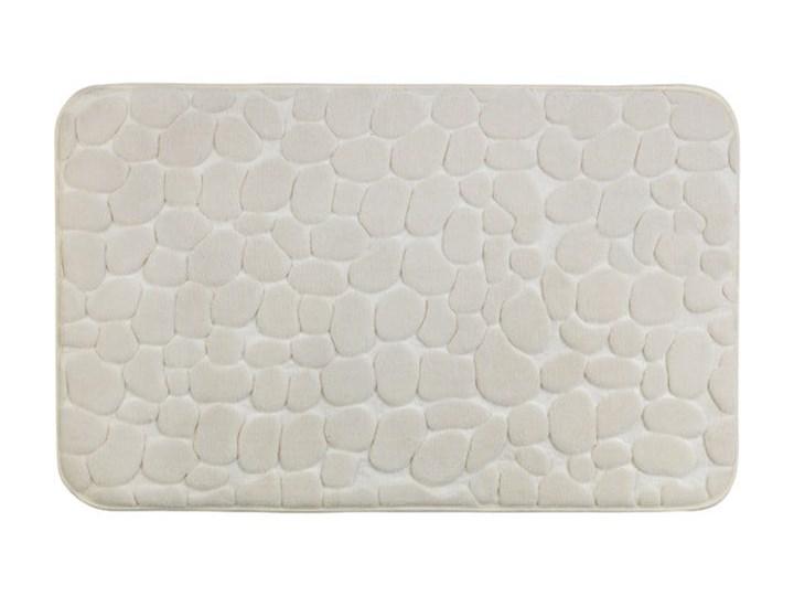 Beżowy dywanik łazienkowy z pianką z pamięcią kształtu Wenko Beige, 80x50 cm 50x80 cm Kategoria Dywaniki łazienkowe