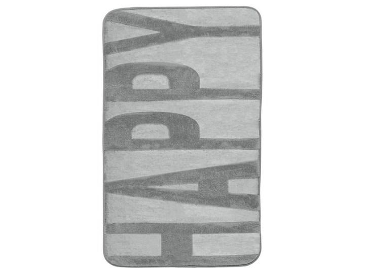 Szary dywanik łazienkowy z pianką z pamięcią kształtu Wenko, 80x50 cm 50x80 cm Kategoria Dywaniki łazienkowe