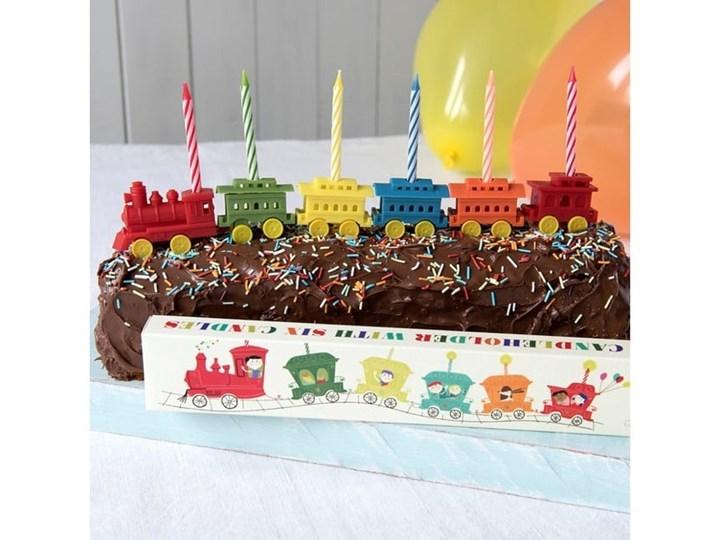 Zestaw 6 podstawek na świeczki urodzinowe Rex LondonTrain Kategoria Dekoracja wypieków Kolor Wielokolorowy