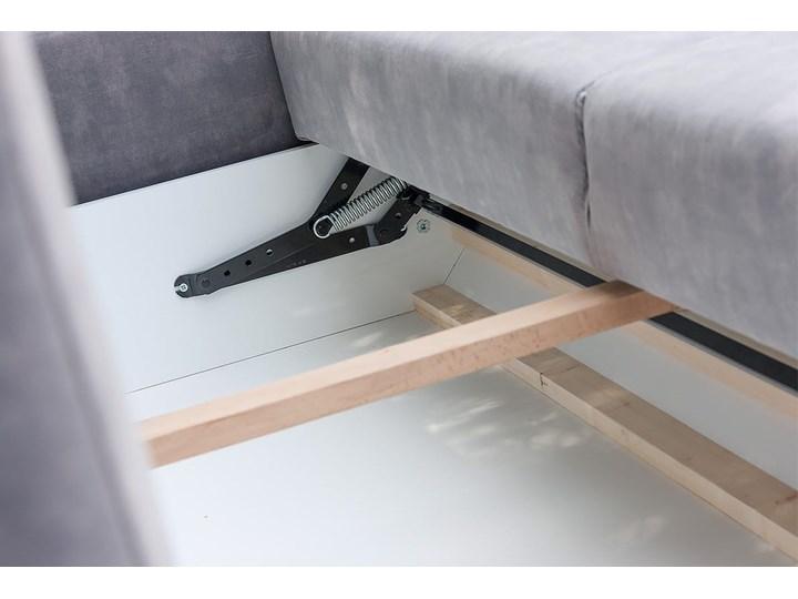 Sofa BRISTOL z funkcją spania Stała konstrukcja Boki Z bokami Styl Skandynawski