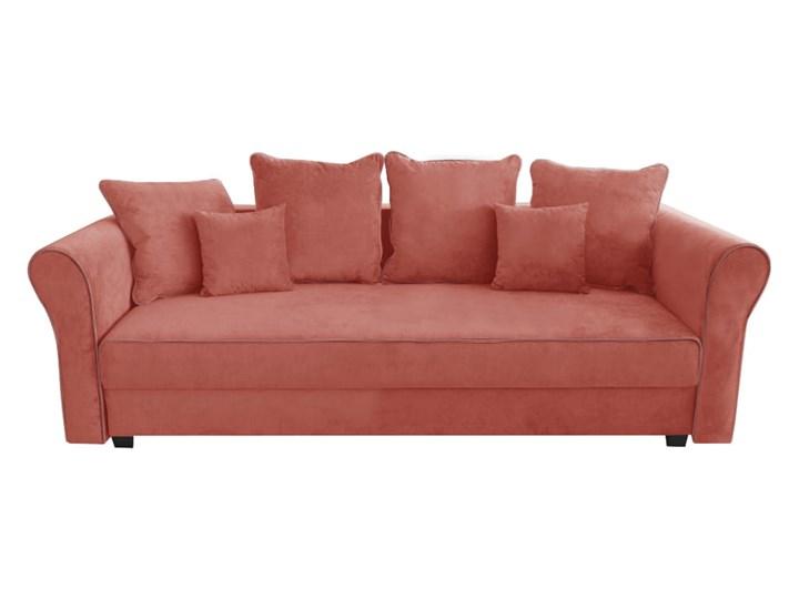 Sofa NEW YORK z funkcją spania Stała konstrukcja Materiał obicia Tkanina Nóżki Bez nóżek