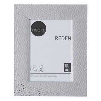 Ramka na zdjęcia Reden 13 x 18 cm srebrna Inspire