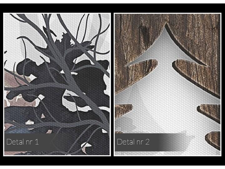 Drzwi do lasu - nowoczesny obraz na płótnie - 120x80 cm Wymiary 80x120 cm Wykonanie Wydruk cyfrowy