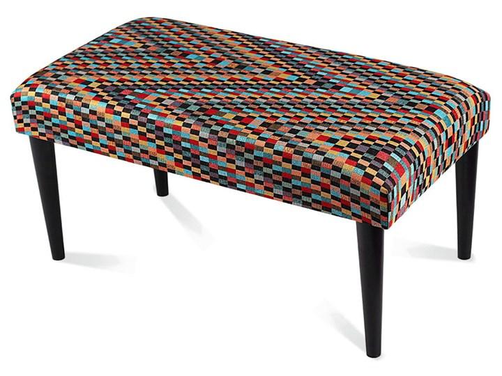Ławka tapicerowana Modello Kategoria Ławki do salonu Pikowana Materiał nóżek Drewno