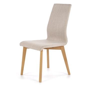 Krzesło do jadalni na drewnianych nogach Focus