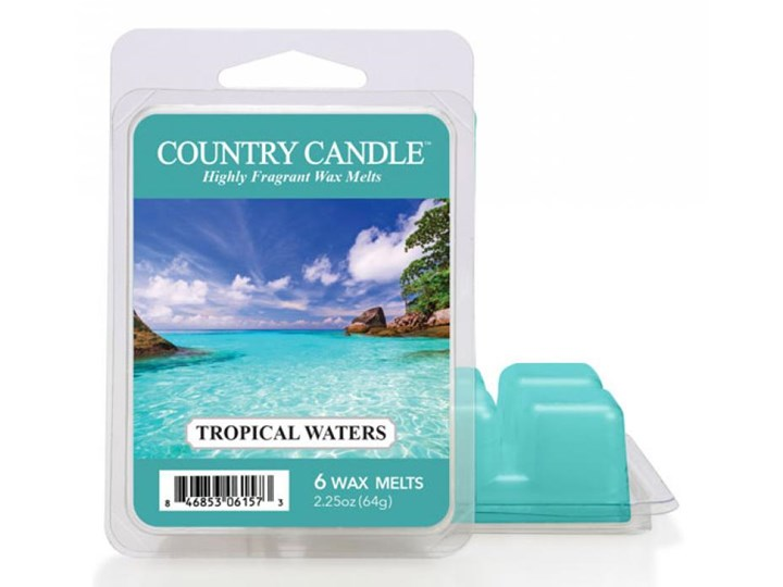"""Country Candle - Tropical Waters - Wosk zapachowy """"potpourri"""" (64g)"""