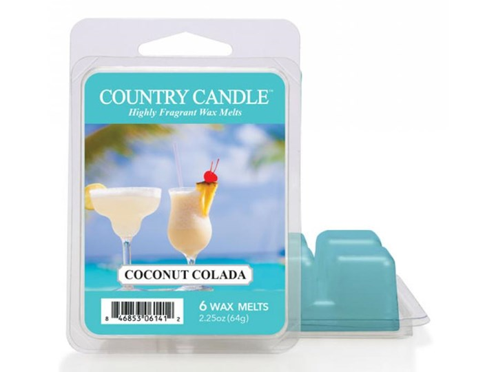 """Country Candle - Coconut Colada - Wosk zapachowy """"potpourri"""" (64g)"""