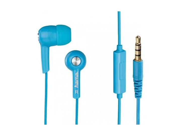 HAMA HK2114 z mikrofonem, niebieskie Mikrofon