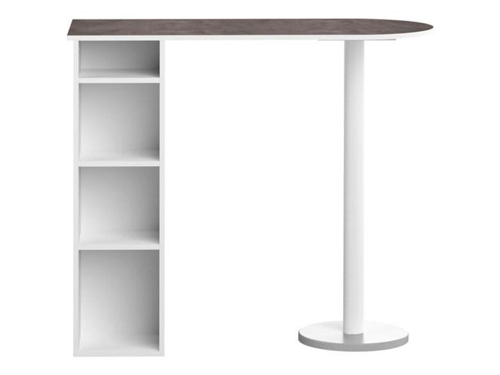 Biały stół z półkami Symbiosis Gélas