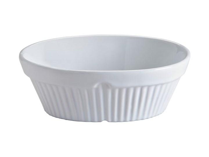 Białe naczynie kamionkowe do zapiekania MasonCash Classic Collection Kolor Biały Ceramika Kategoria Naczynia do zapiekania