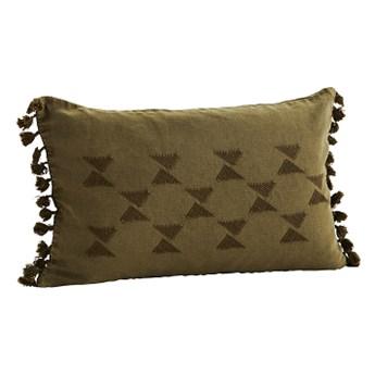 Madam Stoltz - Poszewka na poduszkę z haftem kopia