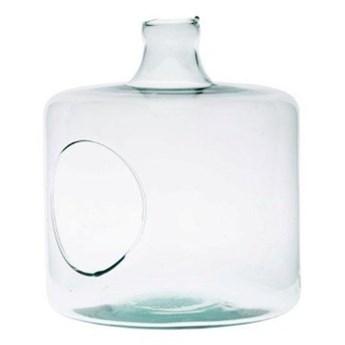 Szklane terrarium W-364+boczny otwór