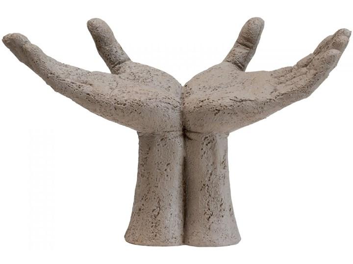 Figurka dekoracyjna Serafina Hands 27x18 cm beżowa