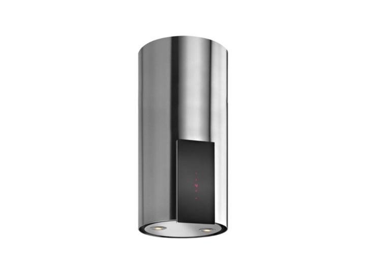 Okap VDB Tube P Glass Inox Szerokość 39 cm Okap kominowy Sterowanie Elektroniczne Kategoria Okapy