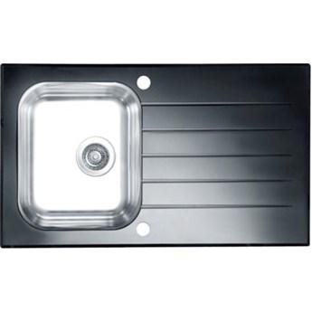 Zlewozmywak ALVEUS Glassix 10 POP-UP 3 1/2 1099450 Satyna-czarny