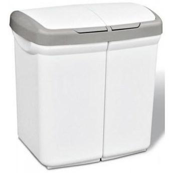 Kosz na śmieci MELICONI Ecobin 50L Biały